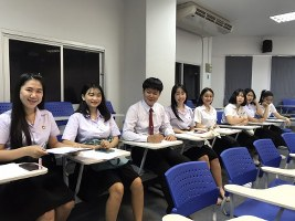สาขาวิชาการจัดการธุรกิจการคสมัยใหม่ ปัจฉิมนิเทศนักศึกษา